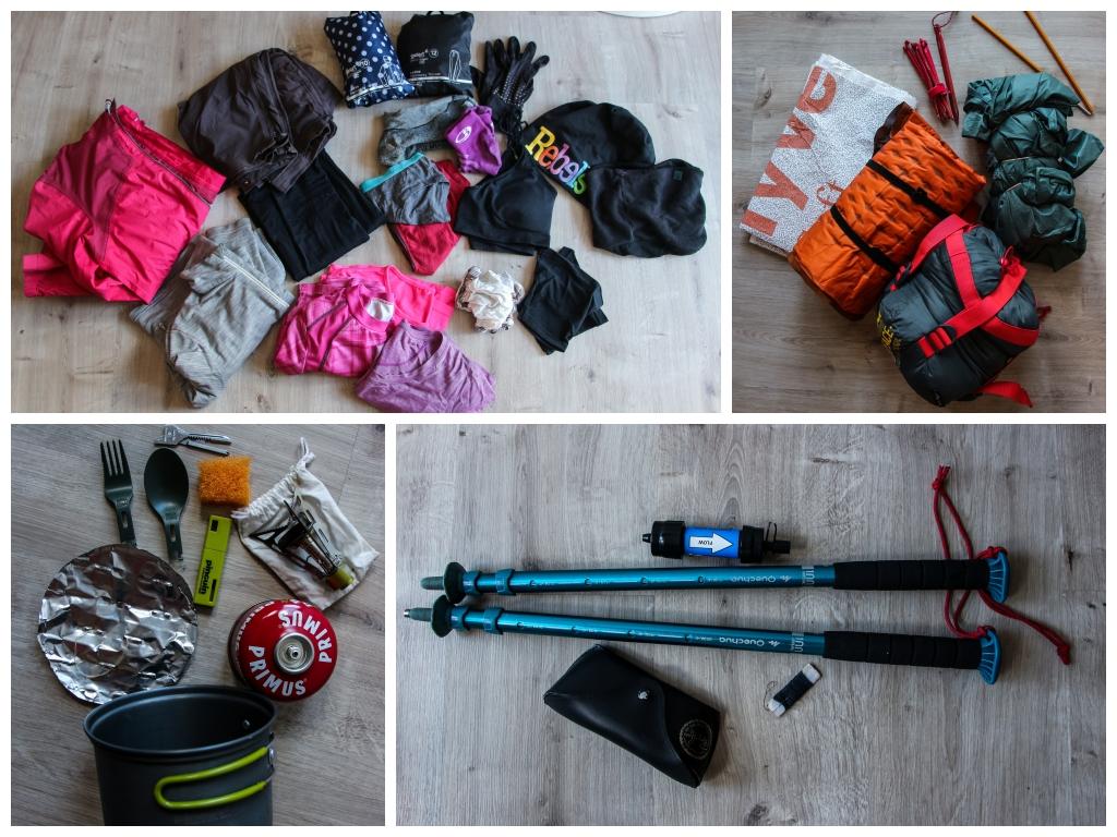 Moje vybavení na měsíční cestu nejen kolem Islandu – stopem a nalehko